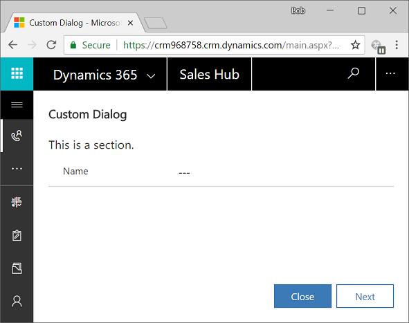 Custom Dialog Boxes-Dynamic CRM - Deepali Vaish